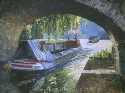 Boat & Butty, Grand Union Canal